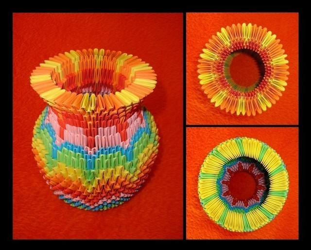 Origami - Vase