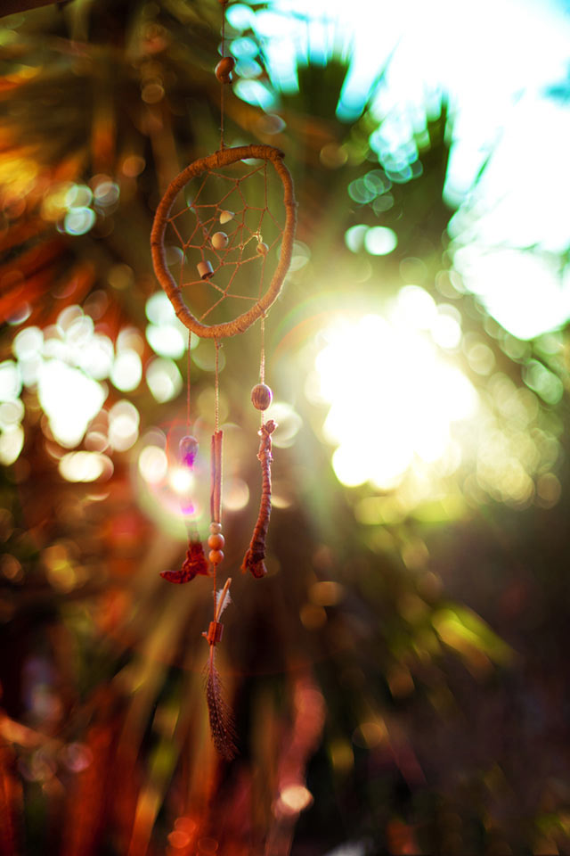 Dream Catcher is an example of Beautiful Bokeh Photography
