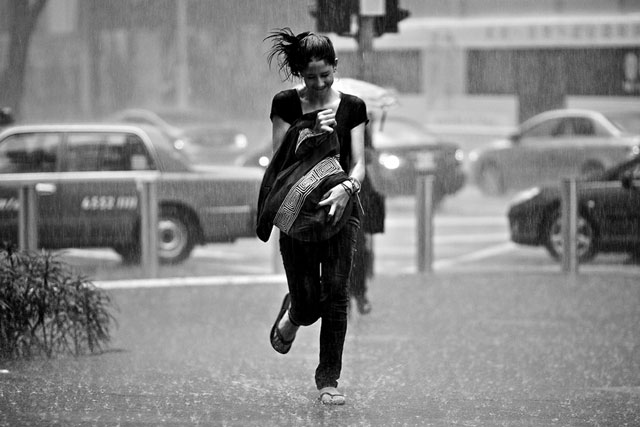 photographer candid Bad Weather