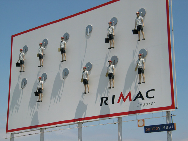 creative advertising billboard design  Rimac
