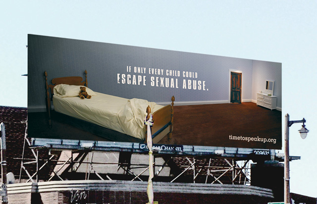 creative advertising billboard design  Escape