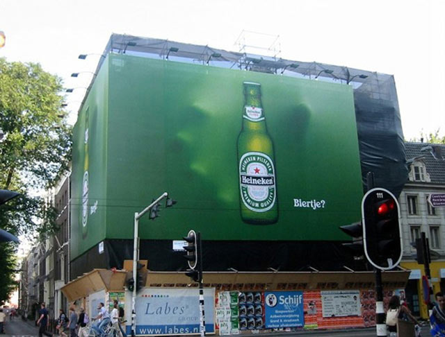 creative billboard Heineken