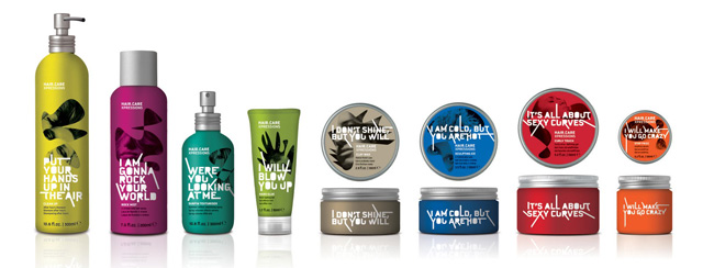 Hair-Care Expressions beautiful packaging example