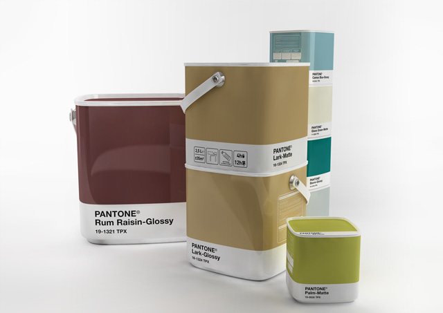Pantone Home Paint crafted packaging product