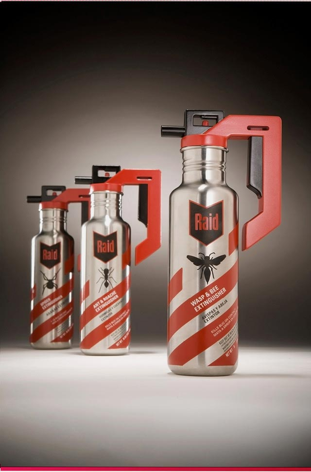 Raid Insecticides crafted packaging product