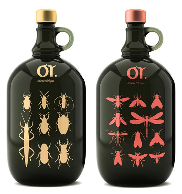 Organic Wine beautiful packaging example