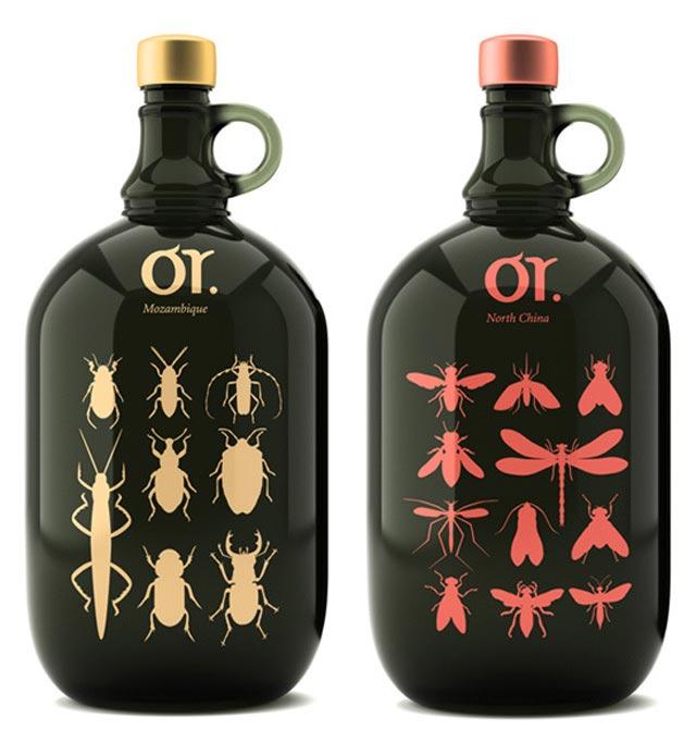 Organic Wine beautiful packaging example