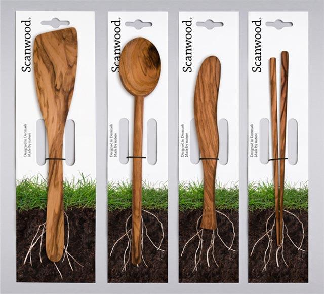 Scan Wood Creative Package Designs