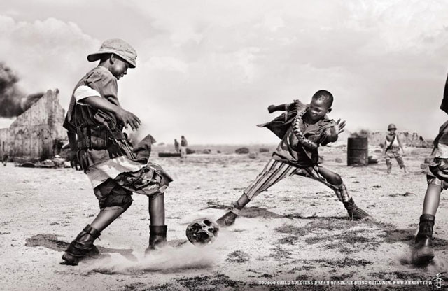 Child Soldiers powerful photography documentary