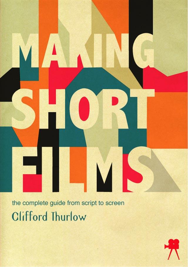 Making Short Films Book Cover book cover typography