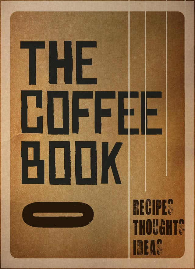 The Coffee Book Typographic Book Covers