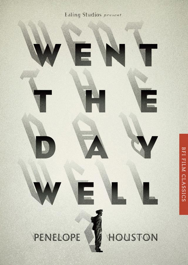 BFI Film Classics typography in book cover design