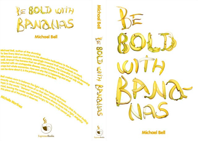 Be Bold with Bananas Typographic Book Covers