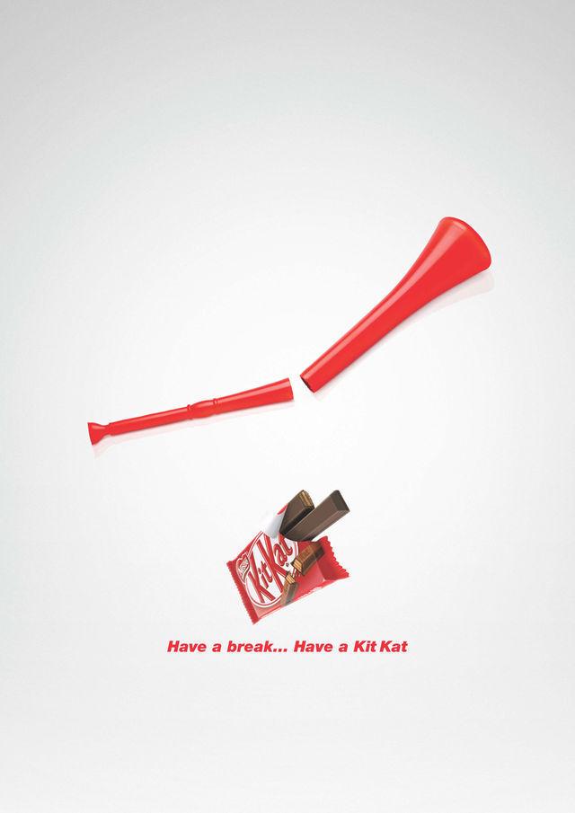 Nestlé Kit Kat: Vuvuzela