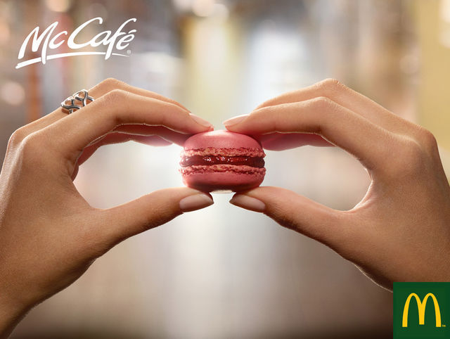 McDonald's / McCafé: Small burger