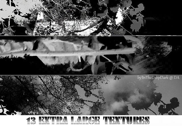 13 Extra Large Dark Textures