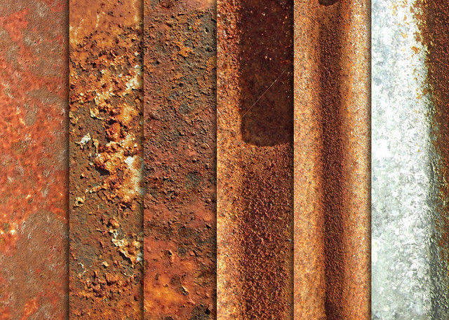 Totally Rusty Metal Textures
