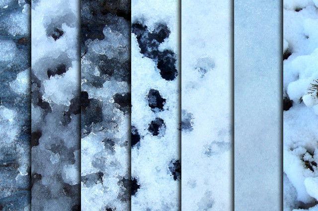 Snow & Ice Textures