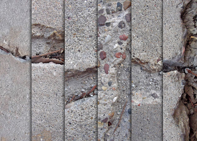 Large Cement Crack Textures Part 2