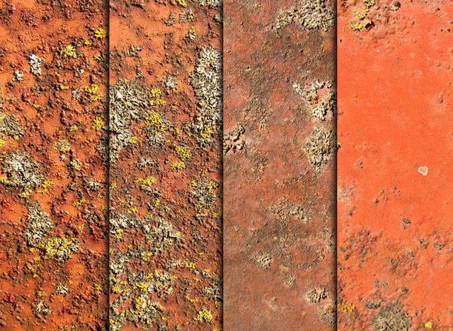 Rust, Moss, & Metal Textures