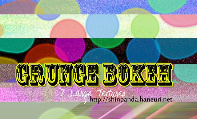 Grunge Bokeh, Texture Pack 10