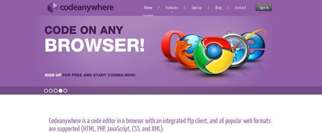 Codeanywhere Code Editor