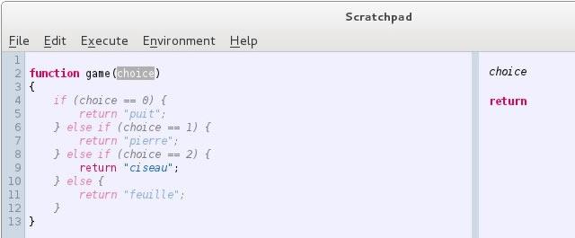 Live Scratchpad