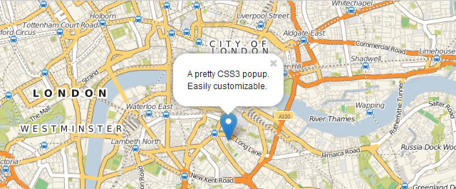 Leaflet is a lightweight JavaScript library for mobile-friendly interactive maps