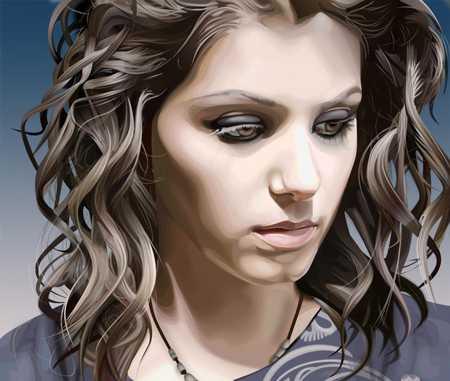 creative inspiring illustration Katie Melua example