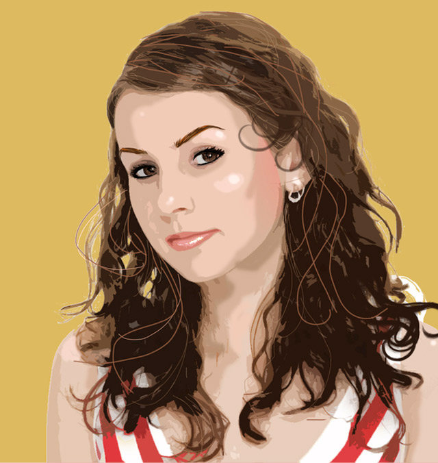 creative inspiring illustration Vexel Portraits example