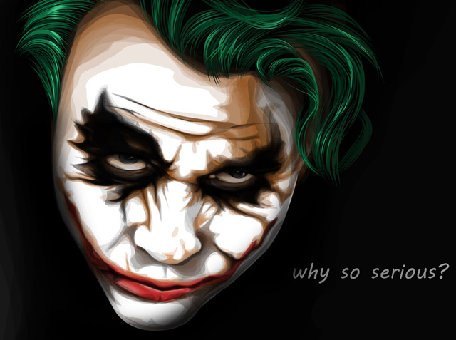 creative inspiring illustration Joker  example
