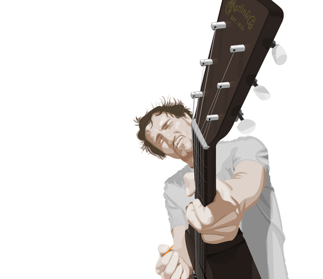 creative inspiring illustration Orange Plectrum example