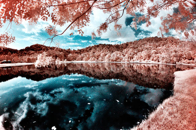 shot infrared Infrared Reflections