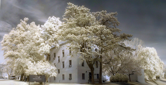 shot infrared Catholic University