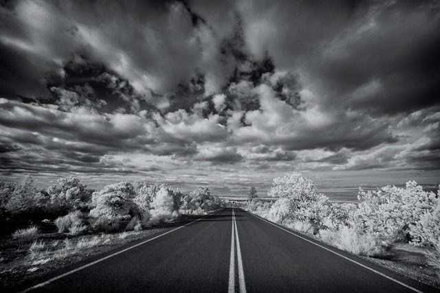 infrared photography The Painted Desert Infrared