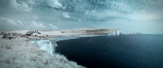 shot infrared The Mighty Seven Sisters