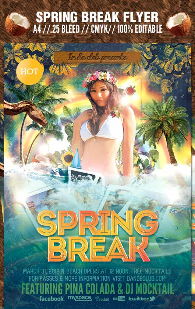 Spring Break Flyer Flyer Flyer