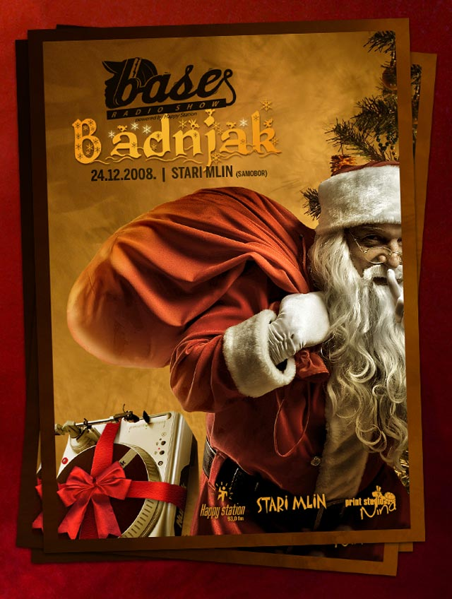 Base X Mas Eve Flyer Flyer