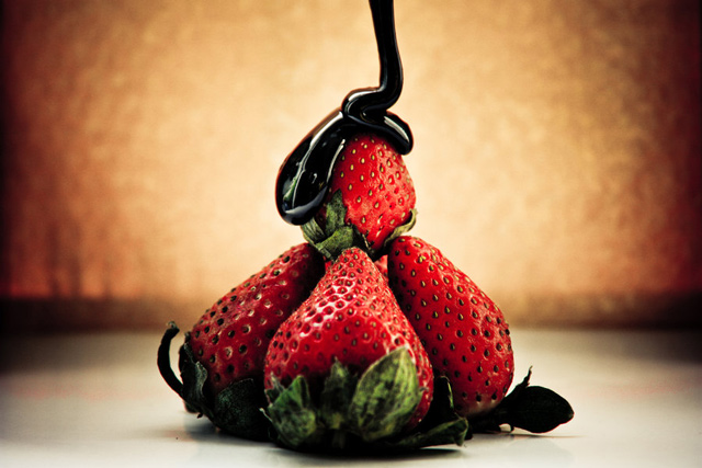 Strawberry's nature photography still