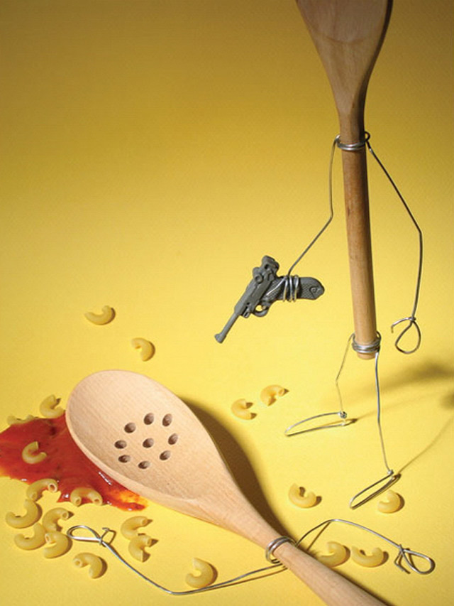 Spoon Attack example of beautiful still life photography