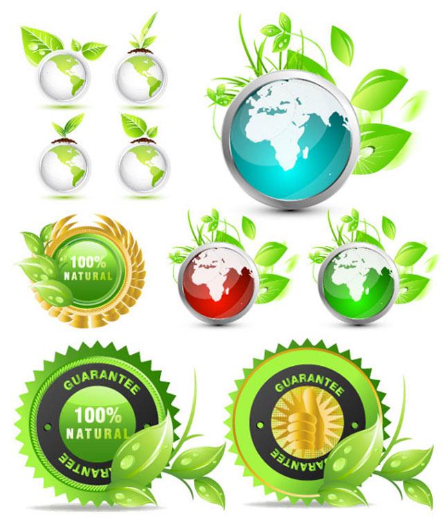 Vector Ecology Globes