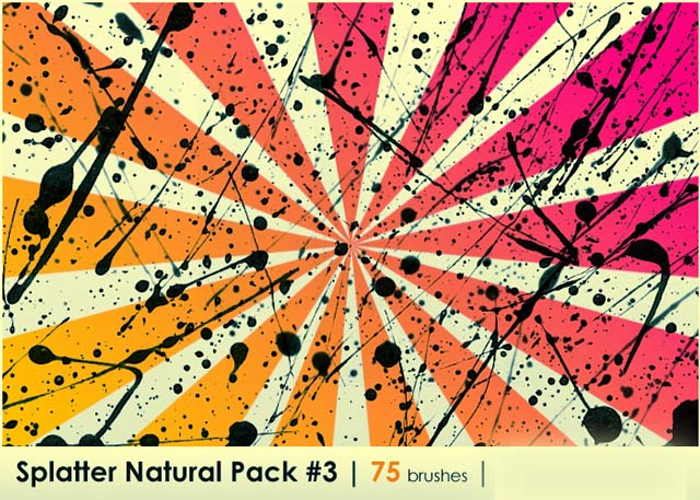 Splatter Natural Pack