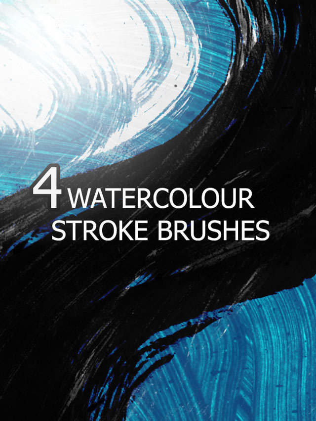 25 free photoshop splatter  u0026 watercolor brushes