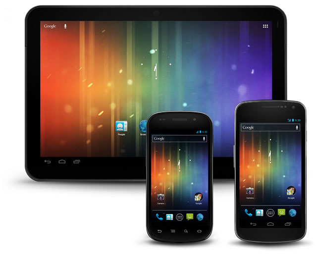 Official Android 4.0 Stencils gui templates free