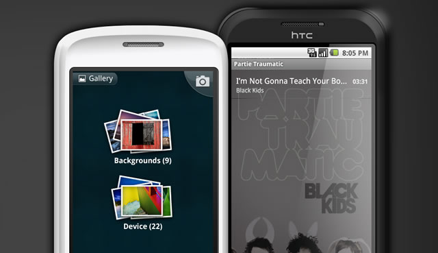 Android 2.1 GUI Templates