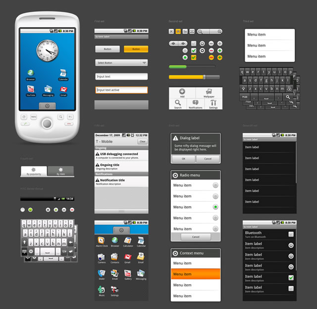 Android 1.5 GUI