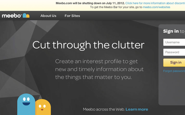 Meebo Instant Messaging chat in your browser - screenshot