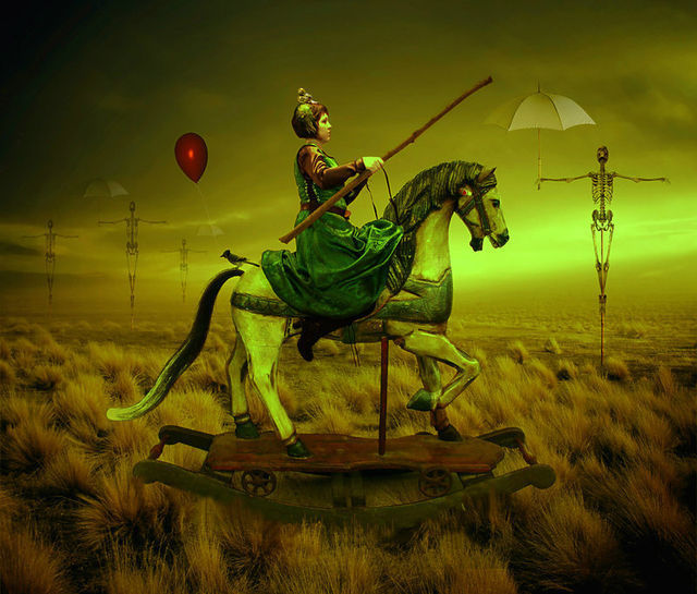 The Lost Cavalry graphic art strange