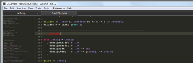 SublimeText - Programming Text Editor