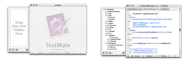 TextMate - Programming Text Editor